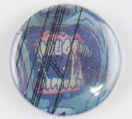werewolf pin-back button, werewolf pinback button