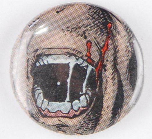 vampire pinback button, vampire pin