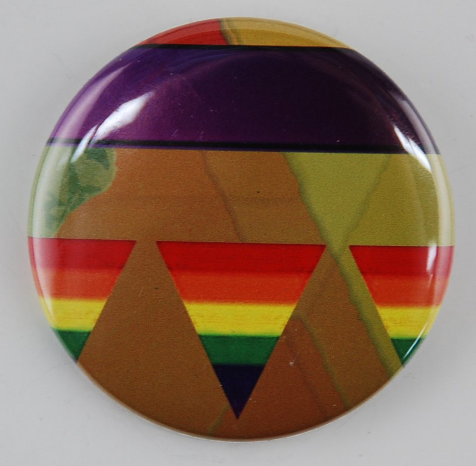 lgbt button, pride button, pin-back button