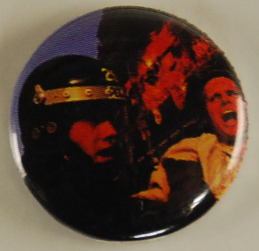 police brutality button, pin-back button, police misconduct